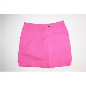 Anthropologie hot pink skirt - size 4